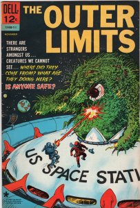Outer Limits # 10 and # 16 Dell 1966-1967