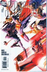 Justice(DC, 2005)#1(Variant),2,3,5,6 Justice League vs The Legion of Doom !
