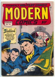 Modern Comics #46 1946- BLACKHAWK- Golden Age VG/F