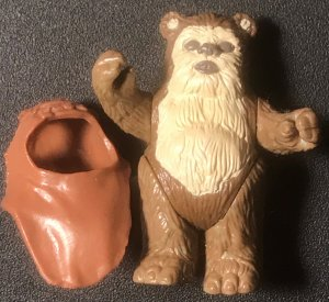 Warrick Ewok Star Wars Original 1984 Action Figure
