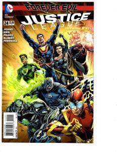 2 Justice League DC Comic Books  # 24 25 Forever Evil New 52 Superman Flash BH12