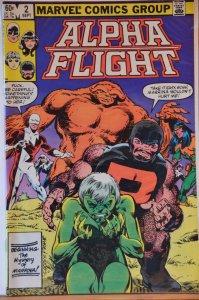 Alpha Flight #2 (1983) VF+