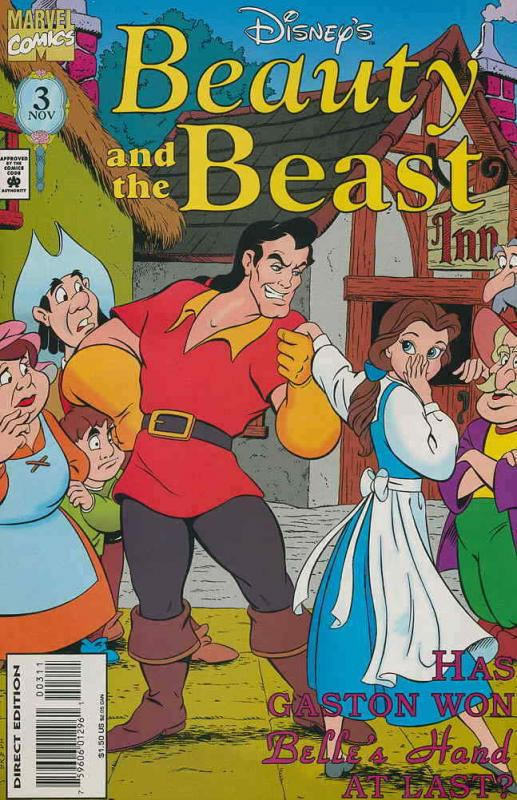 Beauty and the Beast (Disney's…) #3 FN; Marvel | save on shipping - details insi