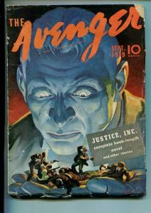 AVENGER-#1-SEPT 1939-PULP-ACTION-MYSTERY-SOUTHERN STATES PEDIGREE-vg