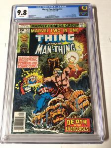 Marvel Two-in-one 43 Cgc 9.8 White Pages