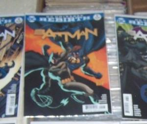Batman # 5  2016  DC UNIVERSE REBIRTH   gotham girl i am gotham pt 5