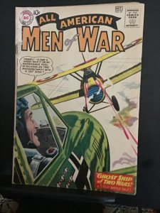All-American Men of War #81 (1960) Affordable grade air aces Battle! VG+ Wow!