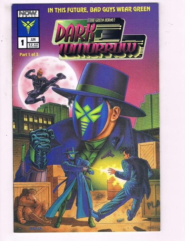 NOW COMICS THE GREEN HORNET LOT OF 2 NM- #1 #2