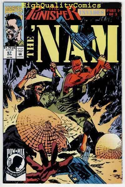 NAM #67, NM+, Vietnam, War, Hueys, Punisher, Jimmy Palmiotti, more in store