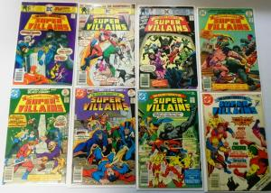 Secret Society of Super-Villains Near Set:#1-5 Missing#5, 15 Diff. Incl. Special