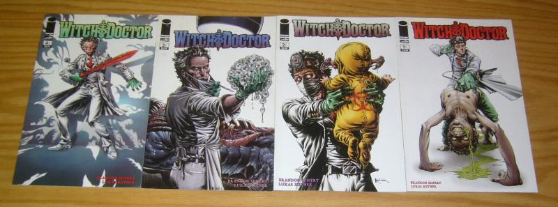 Witch Doctor #1-4 VF/NM complete series - image comics - brandon seifert set 2 3