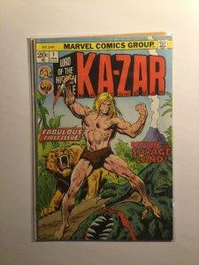 Ka-Zar 1 Fine- fn- 5.5 Marvel