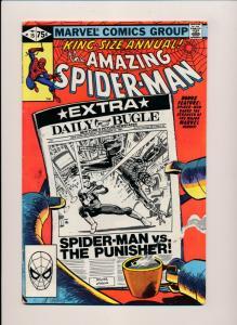 Marvel Comics Amazing Spider-man Annual #15 ~ Fine 1981 Miller Art (PF105)