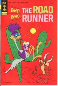 BEEP BEEP THE ROAD RUNNER (GK) 39 F-VF October 1973 COMICS BOOK