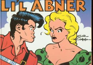 LI'L ABNER-THE DAILIES 1943-HARDCOVER-AL CAPP-VOL 9 VG