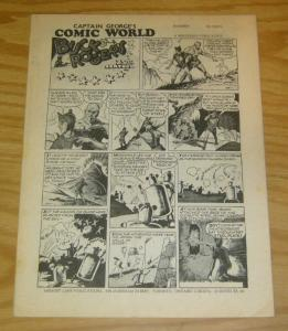 Captain George's Comic World #16 VF classic buck rogers reprint - whizzbang