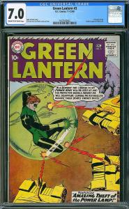 Green Lantern #3 (DC, 1960) CGC 7.0