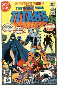 NEW TEEN TITANS #2- comic book-First DEATHSTROKE-1980- DC