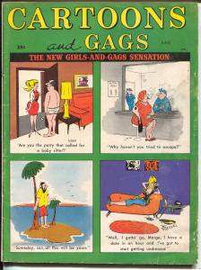 Cartoons and Gags 6/1967-Marvel-jokes-Trogdon-Hagglund-Engleman-VG