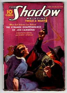 SHADOW 1936 November 15 -HIGH GRADE- STREET AND SMITH-RARE PULP FN+