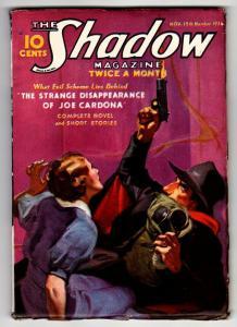 SHADOW 1936 November 15 -HIGH GRADE- STREET AND SMITH-RARE PULP FN+
