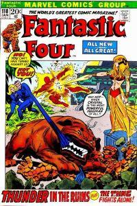 Fantastic Four (1961 series) #118, VG- (Stock photo)