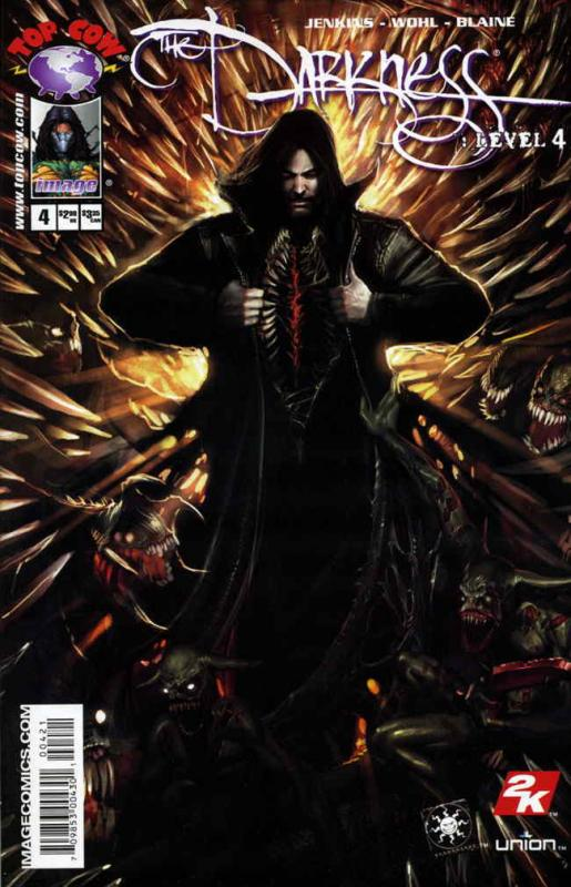 Darkness, The: Level #4B VF/NM; Image | save on shipping - details inside