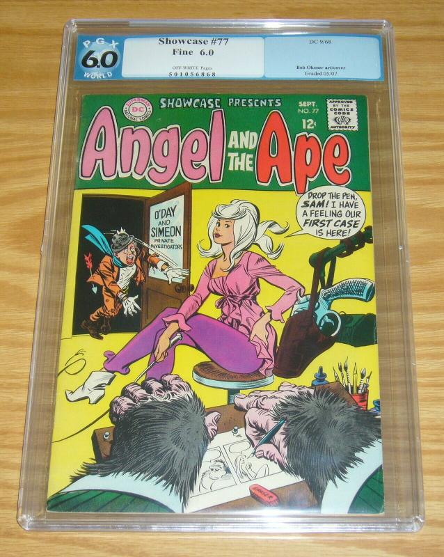 Showcase #77 PGX 6.0 silver age dc comics - 1st appearance of angel and the ape