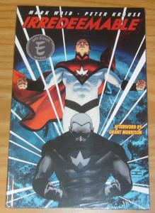 Irredeemable TPB 1 VF/NM john cassaday MARK WAID grant morrison afterword BOOM!