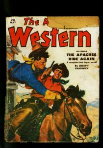 The Rio Kid Western May 1951 Thrilling Pulp- Joseph Chadwick P/FR