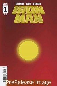 IRON MAN (2020 MARVEL) #1 VARIANT 1:200 RED GOLD PRESALE-09/16