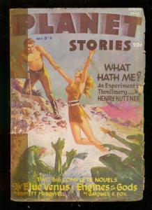 PLANET STORIES-SPG 1946-AC HOLLINGSWORTH INTERIOR ART   G/VG