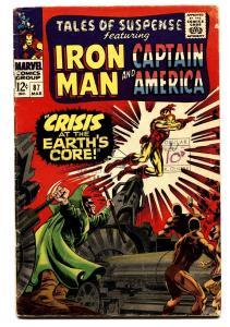 TALES OF SUSPENSE #87 comic book 1966-IRON MAN/CAPTAIN AMERICA-MARVEL