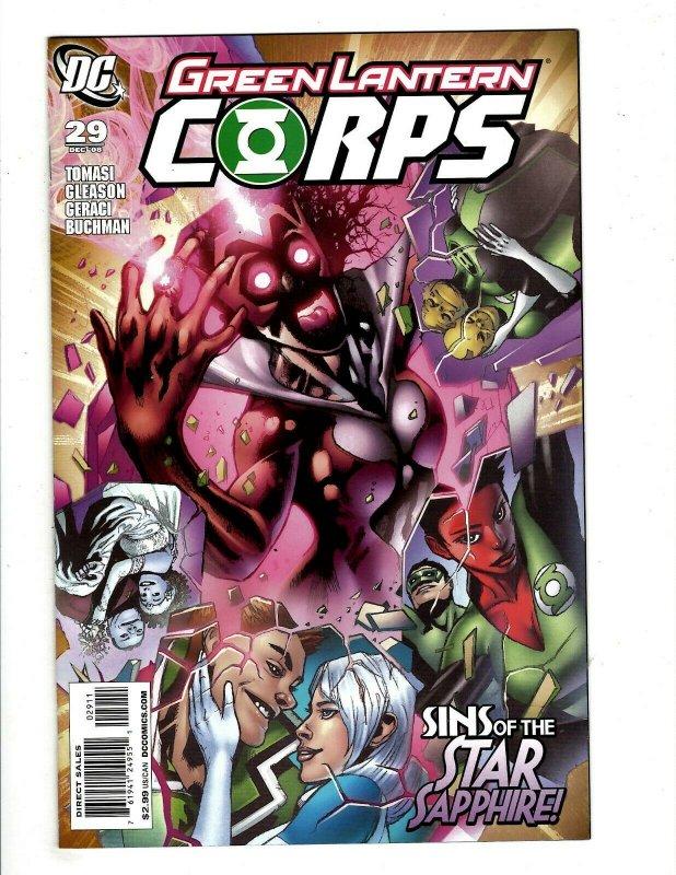 12 Green Lantern Corps DC Comics # 18 20 21 22 23 24 25 26 27 28 29 30 J433