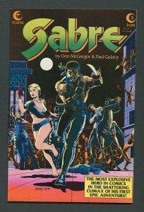 Sabre #2  / 7.5 VFN-  October 1982