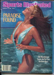 Sports Illustrated 2/10/1981-swimsuit issue-Elle Macpherson-G/VG