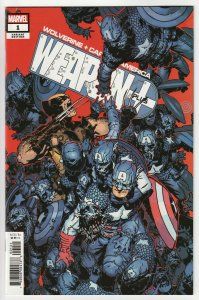 Wolverine And Captain America Weapon Plus #1 Bachalo Var (Marvel, 2019) VF/NM