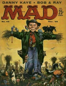 Mad #43 VG; E.C   low grade comic - save on shipping - details inside