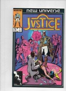 JUSTICE #1 2 3 4 5 6 7 8 9 10 11 12 13 14 15-31, VF/NM, Marvel, 1986, 1-31 set