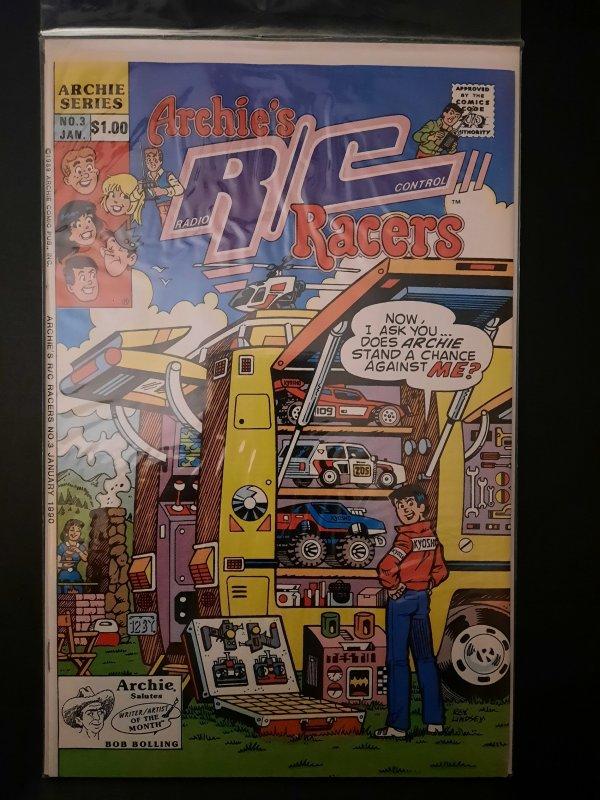 Archie's R/C Racers #3 (1990)
