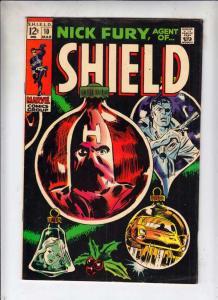 Nick Fury Agent of S.H.I.E.L.D. #10 (Mar-69) FN/VF+ High-Grade Nick Fury, S.H...