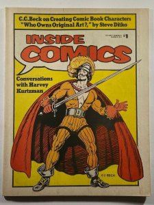 Inside Comics #4 Fanzine 1974 Harvey Kurtzman Interview Steve Ditko Essay