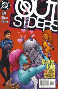 Outsiders (2003 series) #20, NM (Stock photo)