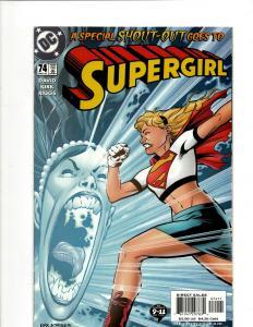 12 Supergirl DC Comics # 74 75 76 77 78 79 80 One million + Prysm + Shazam+ GK22