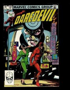 Daredevil # 197 VF- Marvel Comic Book Frank Miller Elektra Lady Deathstrike GB4