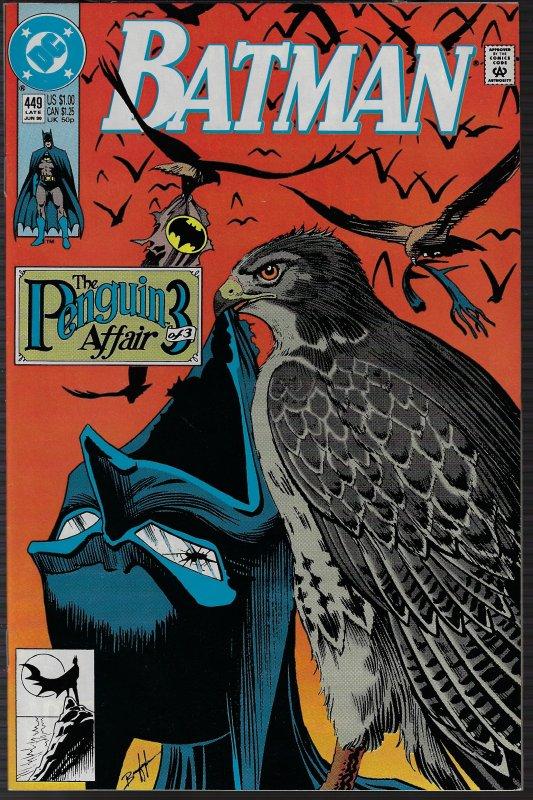 Batman #449 (DC, 1990) NM