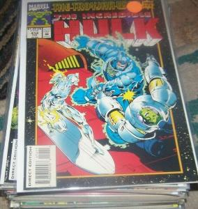 Incredible Hulk  # 414  feb 1994  Marvel  trojan war pt 4 silver sirfer