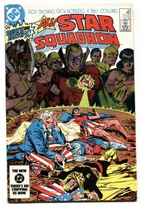All-Star Squadron #32 1984 Freedom Fighters issue DC comic book