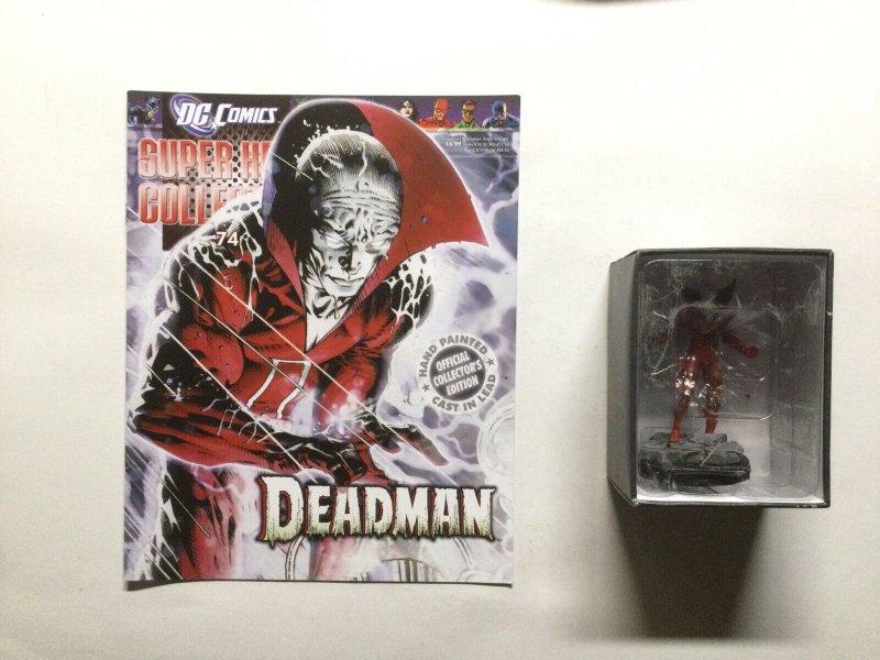 Deadman Super Hero Collection Lead Figure and Magazine Eaglemoss