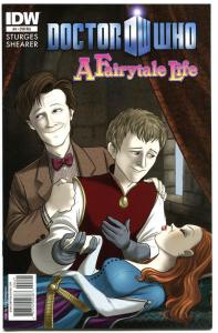 DOCTOR WHO FAIRYTALE LIFE #4, VF+, Variant, Tardis, 2011,  more DW in store
